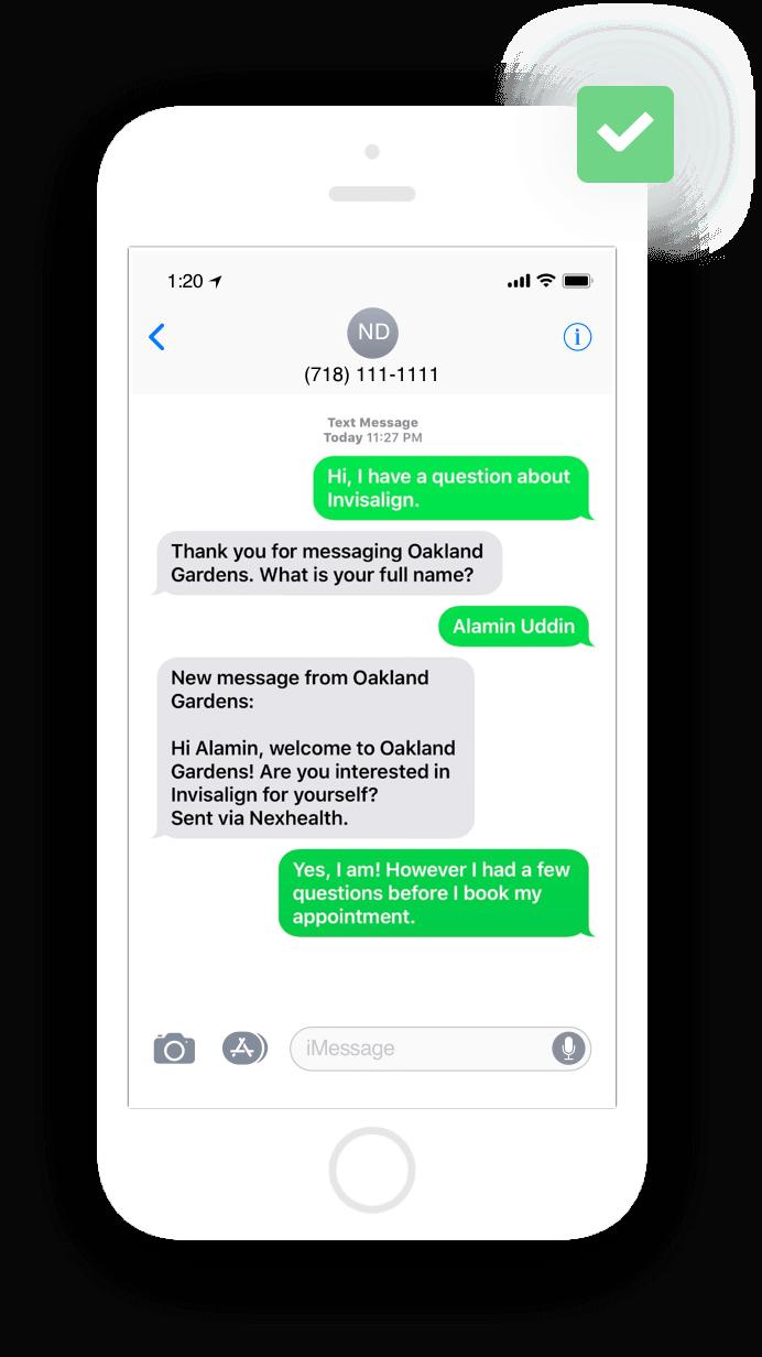 Two-way Messaging | NexHealth